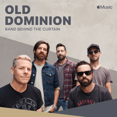 1x1 Old Dominion Band Behind the Curtain