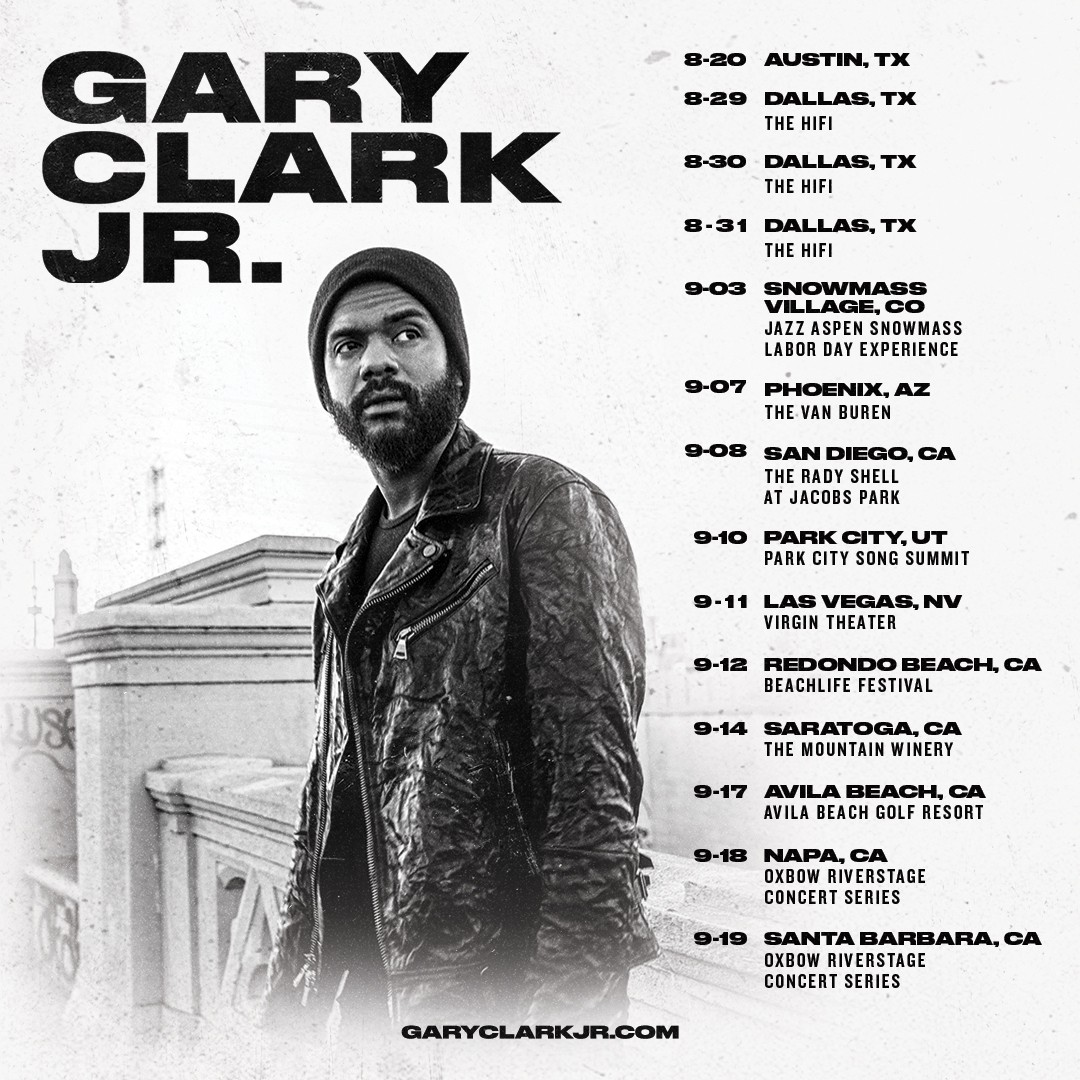 GRAMMY AWARD-WINNER GARY CLARK JR. READY TO LIGHT UP STAGES ACROSS NORTH AMERICA THIS SUMMER