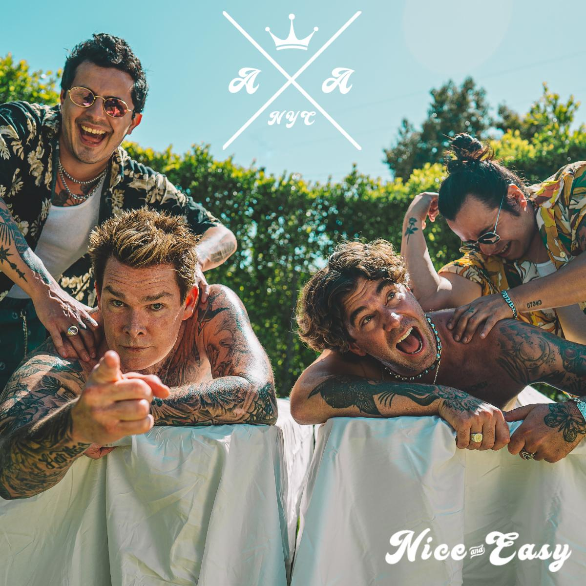 """AMERICAN AUTHORS SHARE BREEZY NEW SINGLE """"NICE AND EASY"""" FEATURING MARK MCGRATH OF SUGAR RAY"""