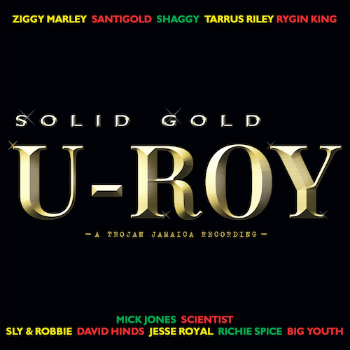"""U-Roy's final album out today; U-Roy and Ziggy Marley's """"Trenchtown Rock"""" visualizer streaming now"""